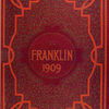 Franklin, 1909 [Front cover].