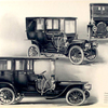 Franklin Model D Landaulet, upper views; Model H limousine, lower view.