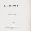 Les liliacées, Tome huitième, [Title page]