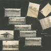 Photographs of troops, barracks, water tanks, and American and Red Cross flags,] Camp Upton, Long Island, N.Y.