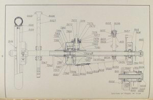 Plate No. 2 - Rear axle [Drawing].