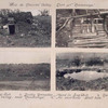 Bois de Chaume valley, east of Consenvoye : dugout ; deadly grenades found in dugout ; north side of valley, near Consenvoye ; an enormous shell hole.