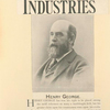 American Industries. May 19, 1894; Henry George has won his right to be placed among the tariff reformers...