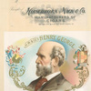 H. M. & Co's Henry George:Tradeamark of Hirschhorn, Mack & Co.,  manufacturers of cigars.