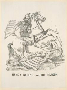 Henry George and the dragon.