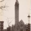 Second Presbyterian Church, Newark, New Jersey (destroyed by fire in 1930).]