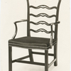 Colonial American chair.]