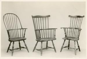 Windsor chairs.