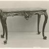 Table with marble top, by William Savery.