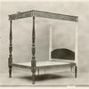 Chippendale bed.