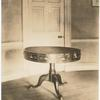 The table on which the Treaty of Ghent was ratified by President Madison, Feb. 17, 1815, the Octagon, Washington, D.C.