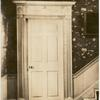 Doorway, Cook-Oliver house, 142 Federal St., Salem, Mass, McIntire arch. [architect], 1799.