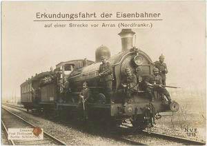 German World War I photographic postcards