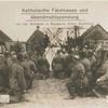 Katholische Feldmesse und Abendmahlspendung, vor der Schlacht in Russland, hinter Korkowo.