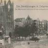 Die Zerstörungen in Ostpreussen : der Marktplatz von Lyck mit der evangelischen Kirche.