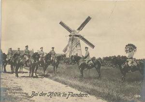 Bei der Kritik in Flandern.