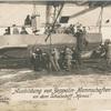 Ausbildung von Zeppelin-Mannschaften an dem Schulschiff Hansa.