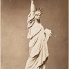 Model of the Statue of Liberty.
