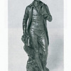Robert Burns (Number 9) [Statuette in bronze by Paul R. Montford]