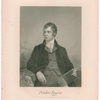 Robert Burns, from the original painting by Chapel in the possession of the publishers. Johnson, Wilson & Co., Publishers, New York. AD 1872.