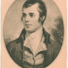 Robert Burns, from an engraving after the portrait by Nasmyth (Courtesy the Fridenberg Galleries)