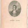 Robert Burns [frontispiece to his poems, 1787]