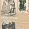 [Robert Burns - 3 portraits] 1. From the model by P. Thurnelli Esqr. 2. Staatue of Robert Burns at Glasgow 3. The Burns Monument.