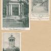 Burns' Mausoleum, Dumfries - Statuary in the Burns' Mausoleum, Dumfries - Burns' Monument, near Brig O' Doon, Ayr.