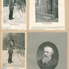 John Burroughs [4 portraits, Tracks in the Snow - At His Study Tour - From 'A Year in the Fields'].