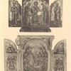 Skladen': Deicus, na stvorkakh svv. aposoly Petr i Pavel; Skladen' (kuzov) novo-grecheskii: v seredine ikona Bogomateri- Neuviadaemyi Tsvet