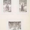 Tri kartinki iz knigi Schleussing'a Derer beyden Czaren in Russland 1693