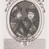 Tsari Petr i Ioann, poiasniia izobrazheniia, grav. v 1685 godu