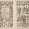 Zaglavnii list k Alfavitu Maksimovicha 1705 goda, s izobrazheniiami russkikh tsarei; Graviura Shchirskago.