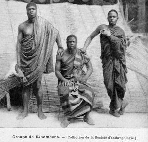Groupe de Dahoméens.