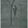 John Brown, d'après le dessin de M. Victor Hugo, grave par M. Paul Chenay.