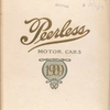 Peerless motor cars, 1909 [Front cover].