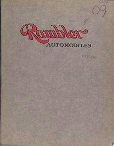 Rambler automobiles [Front cover].