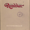 The new Rambler automobiles [Front cover].