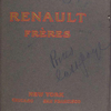 Renault Fréres; New York, Chicago, San Francisco [Front cover].
