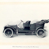 18 h.p. double Phaeton with canvas cape cart hood (down).