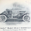 """Courier"" Model 10-A-1 $ 1050 [f.o.b. Dayton]; The Courier Car Company, Dayton, Ohio."