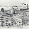 E. R. Thomas Motor Co. [View of the factory in Buffalo, N.Y., U.S.A.]