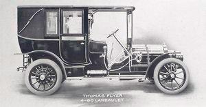 Thomas flyer; 4-60 Landaulet.