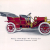 "Moline 1909 Model ""M"" Touring car; Removable tonneau, $ 1500; Specifications of Model ""M""."