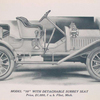 """Buick Model """"10"""" with detachable surrey seat; Price $ 1,050, f.o.b. Flint, Mich."""
