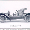 C. G. V. automobiles; Light Runabout; All complete 8-10 h.p. $ 2,500.