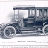 C. G. V. automobiles; Landaulet limousine; On a 20-30 h.p. complete $ 5,500; On 30-40 h.p. all complete $ 6,500.