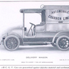 C. G. V. automobiles; Delivery wagon; Able to carry 1 ton of merchandise; 15-20 h.p. complete $ 3,500; 12-15 h.p. complete $ 2,800.