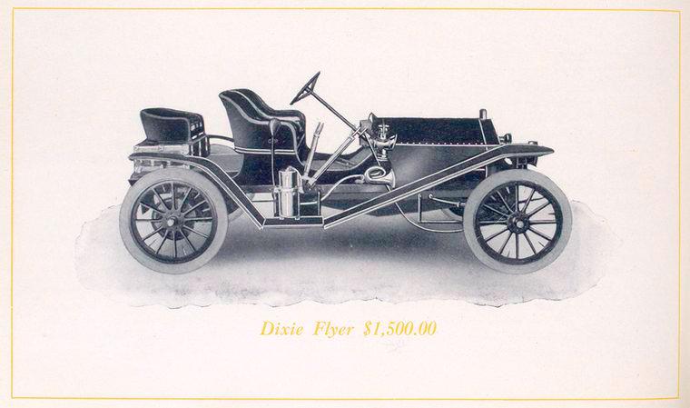 Dixie Flyer $ 1,500.00.
