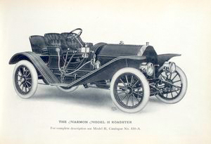 The Marmon Model H Roadster [front view].